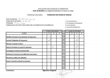 Evaluation des acquis de la formation , FORMATION DE TUTEURS ET.pdf_page_1_censored